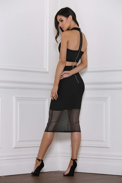 Baker Mesh Skirt – Black 3