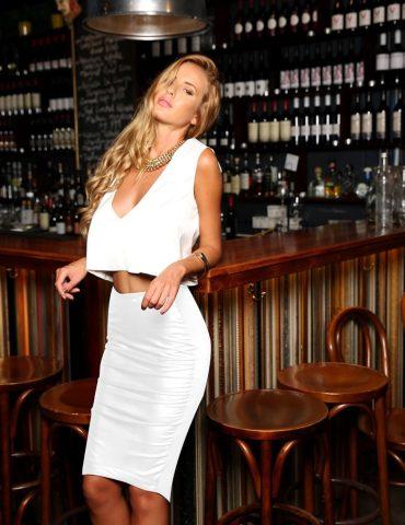 Cosmopolitan Skirt - White 1