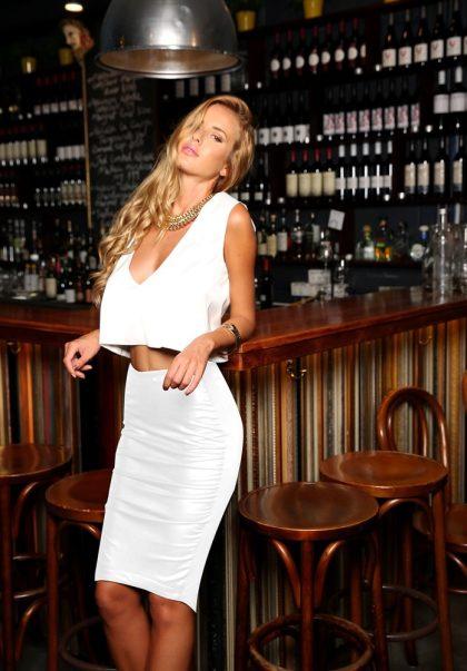 Cosmopolitan Skirt – White 1