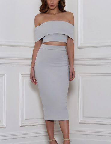 Reckless Skirt - Dove 1