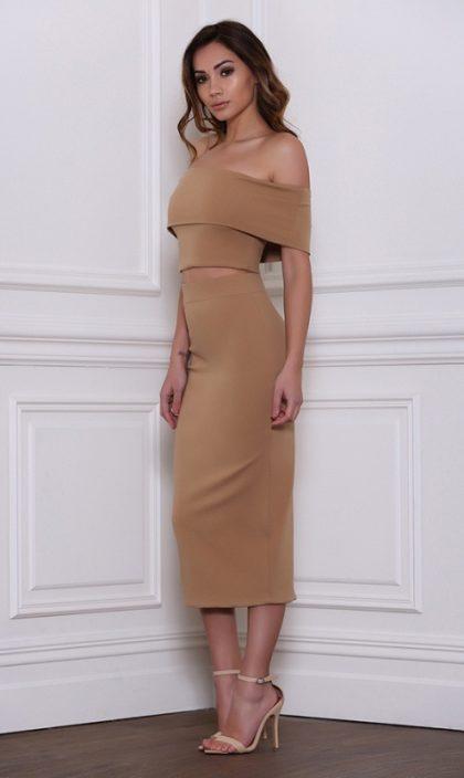 Reckless Skirt – Tan 1