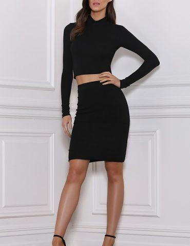 Ruby Skirt - Black 1