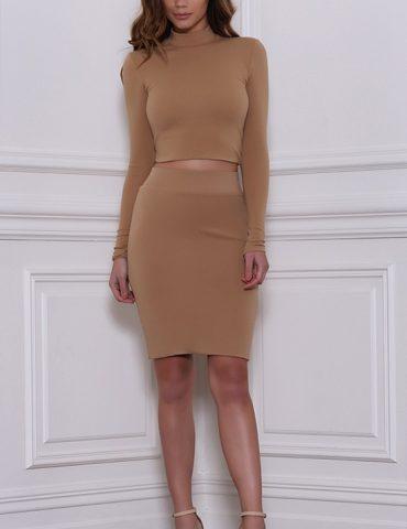 Ruby Skirt - Tan 1