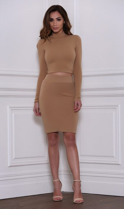 Ruby Skirt – Tan 1