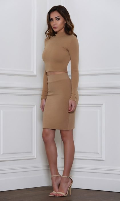 Ruby Skirt – Tan 2