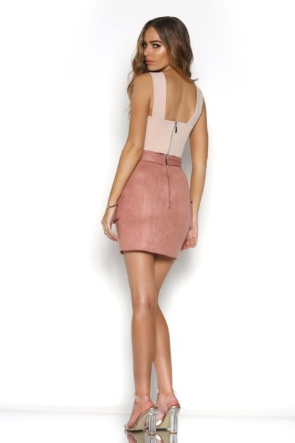 BR16-4029_BLAME_CROP_-_WHITE_BR16-1006_BEYOND_SUEDE_MINI_SKIRT_-_ROSE_-_3