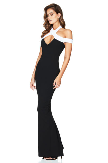 HOLLYWOOD-GOWN-BLACK-WHITE-S