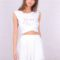 TF6781 oh my dior! sleeveless buttons detail WHITE 1